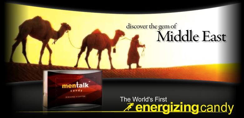 Mentalk Candy, Permen kopi Ginseng, tribulus dari padang pasir