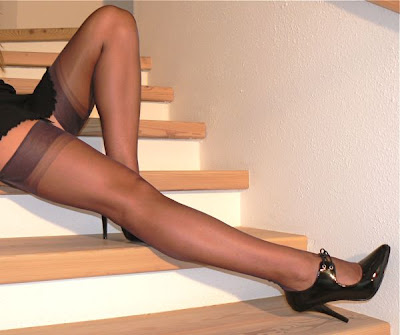 Fully Fashioned Stockings and High Heels