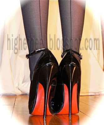 6 inch stilettos and fully fashioned stockings