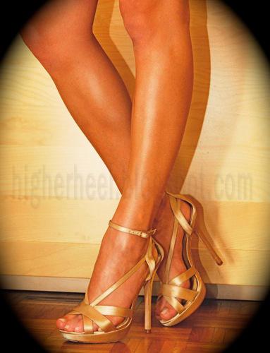 5 inch strappy Buffalo sandals