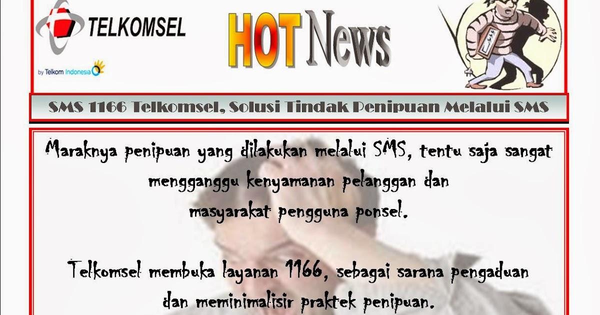 Corporate Communications Telkomsel Jawa Barat Sms 1166 Telkomsel