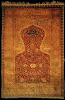 prayer rug, illuminated prayer, jaynamaz