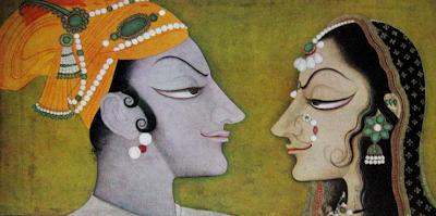 Kishangarh Painting, Radha and Krishna