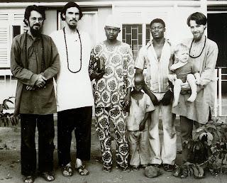 Photo In Nigeria Hajj Abdal Hayy Mumin Muhammad Of Eke And His Son Also Haqq Bewley With Habib