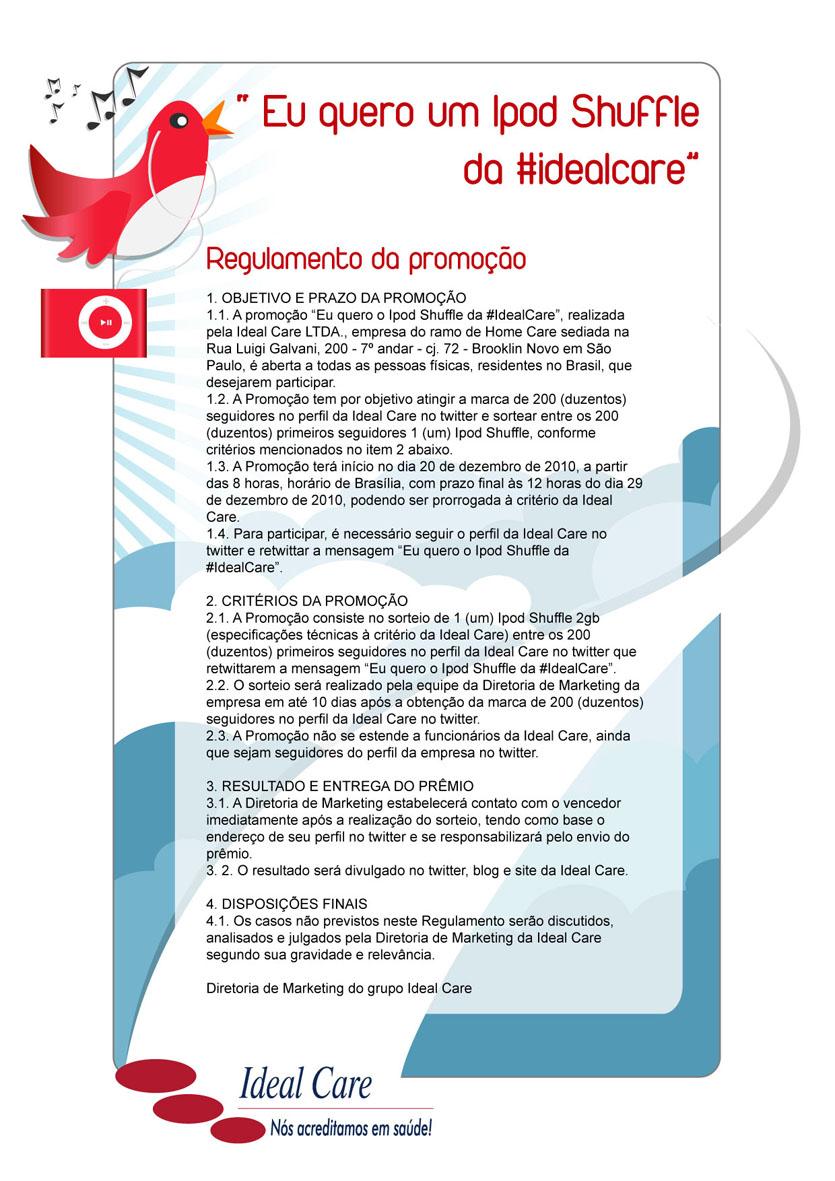 Ideal care sade em casa dezembro 2010 confira abaixo o regulamento fandeluxe Image collections