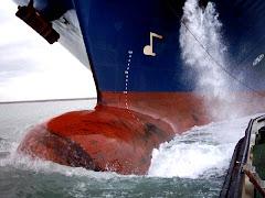 Marine Inconnue fait route
