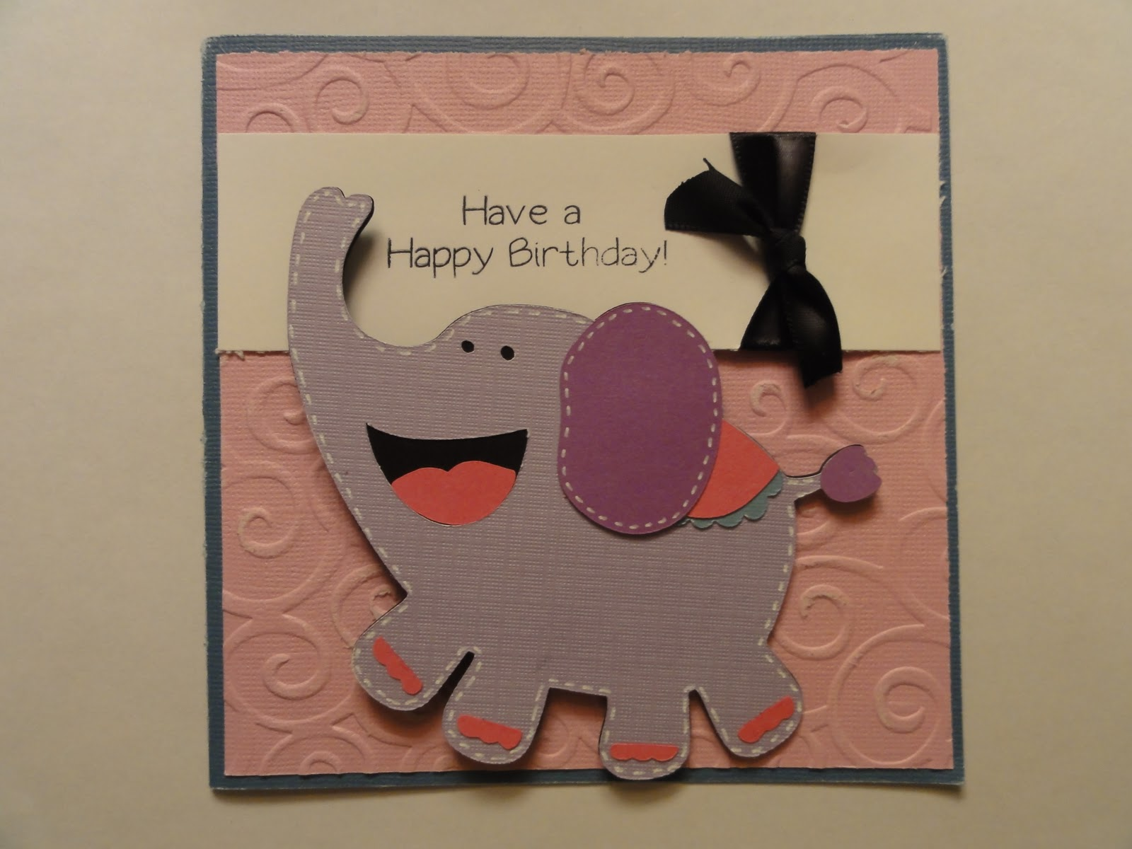 Krafty Kyle Designs Birthday Bash Simple Card Ideas Have A Happy