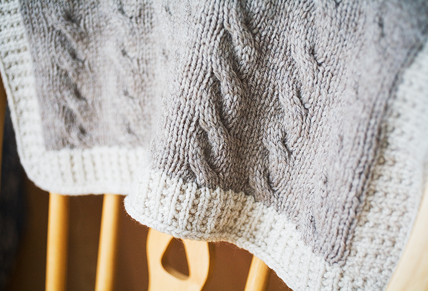 Free Knitting Patterns For Baby Pram Blankets : i am what i knit: Shipley Carriage Blanket