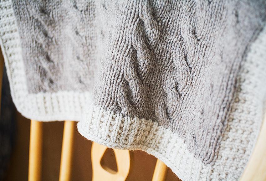 Knitting Pattern For Pram Blanket Free : i am what i knit: Shipley Carriage Blanket