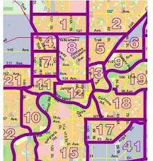 Downtown and Area Zone Map