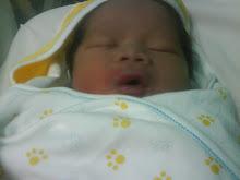 Adam- selepas 1 jam dilahirkan