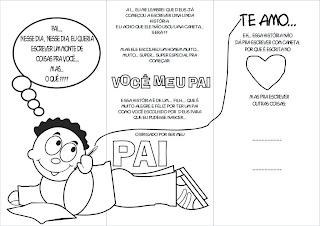 Desenhos para o dia dos pais