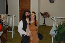 Rick the pirate and Kami pocahontas