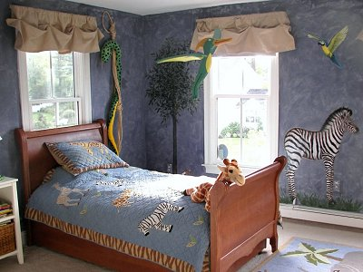 Decorating theme bedrooms maries manor rainforest for Jungle bedroom ideas