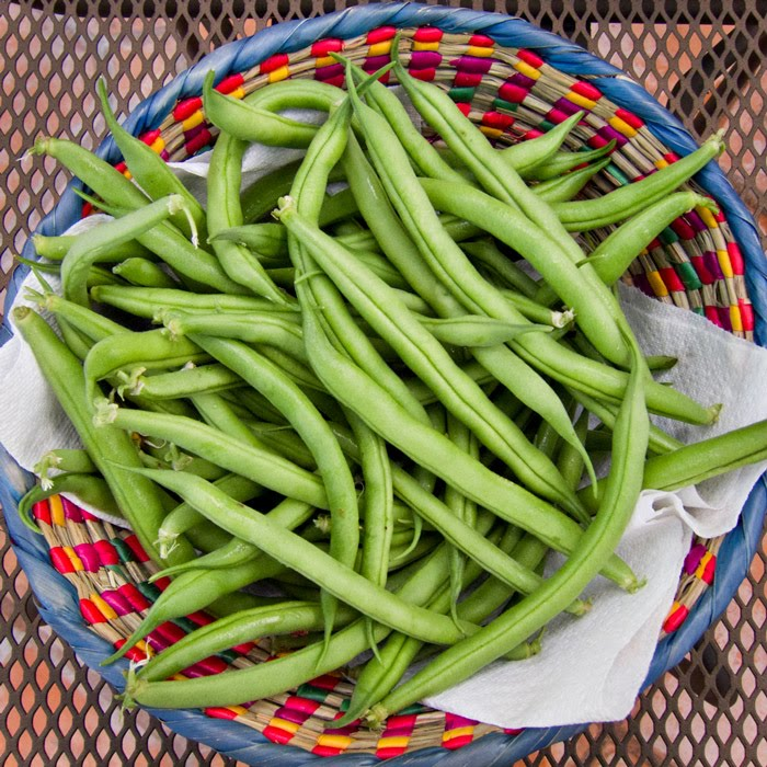 how to cook homegrown green beans