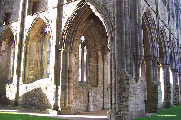 Setting of the Statue of Our Lady of Tintern