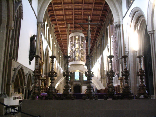 Looking from Lady Chapel into the Nave