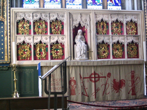 Reredos of the Lady Chapel