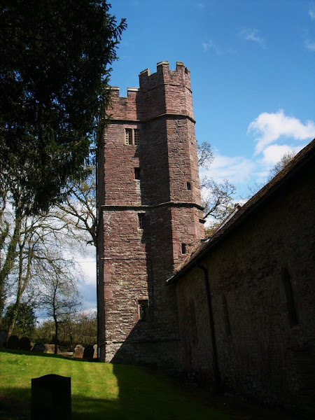Llangwm Nave and Tower