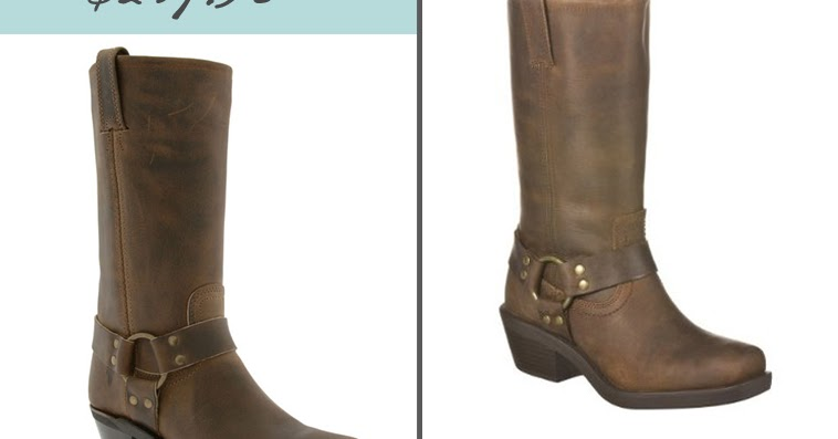 Über Chic for Cheap: Look for Less: Frye Boots & Corsage Tee