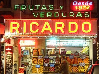 Mar del Plata - Verdulería Ricardo en Güemes y Castelli
