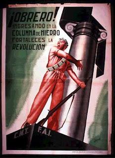 Obreros España Guerra Civil