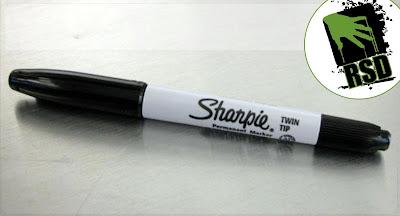caneta utilizada
