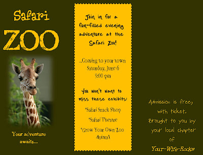 zoo brochure template - awesome brochure design 101greatbrochures of brochure