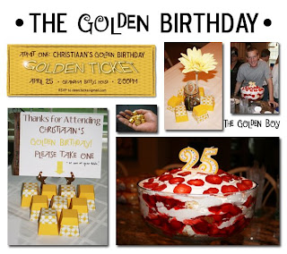 My Friend Anna Rose Over At The How To Gal Planned This Super Fun Birthday Bash For Husbands 25th Golden Check Out Details HERE