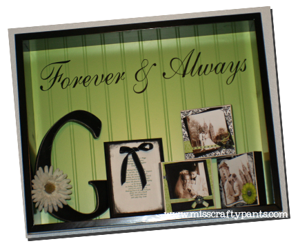 Love Actually Anniversary Shadow Box