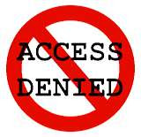 Access Denied, image courtesy of ainley.net