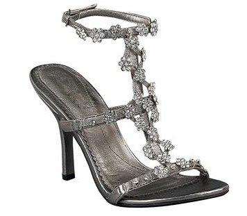 Womens Icora Glamor Heel - Pewter