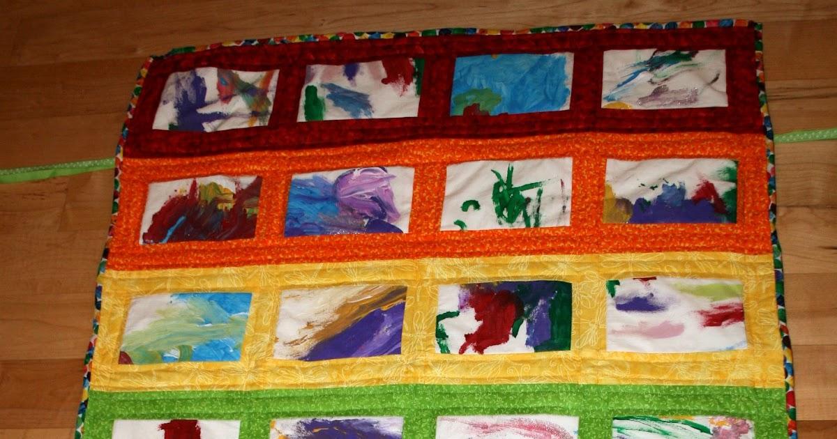Quilt Patterns For Kindergarten : a little of this: Preschool Art Quilt