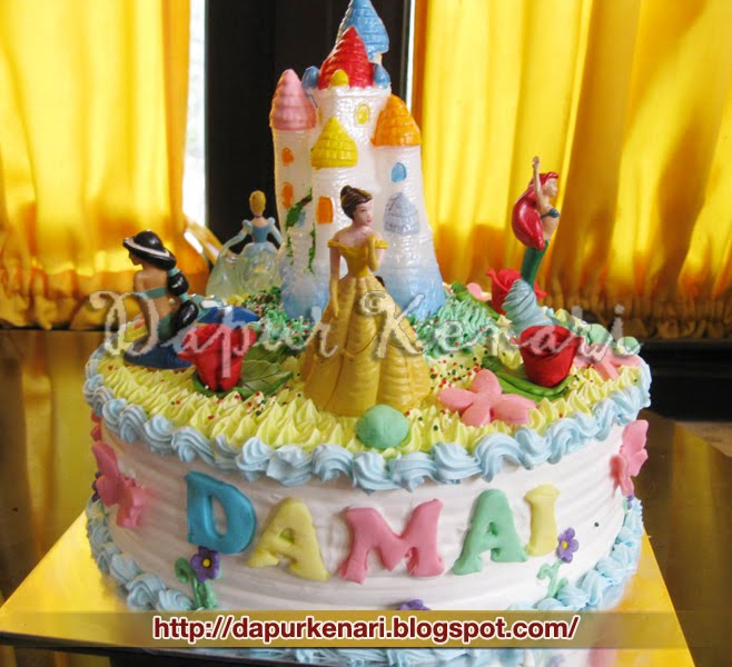 Icip Dapur Backyardigan Birthday Cake For Arya