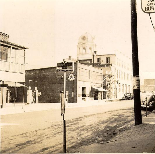 Greenville, Main Street, 1940