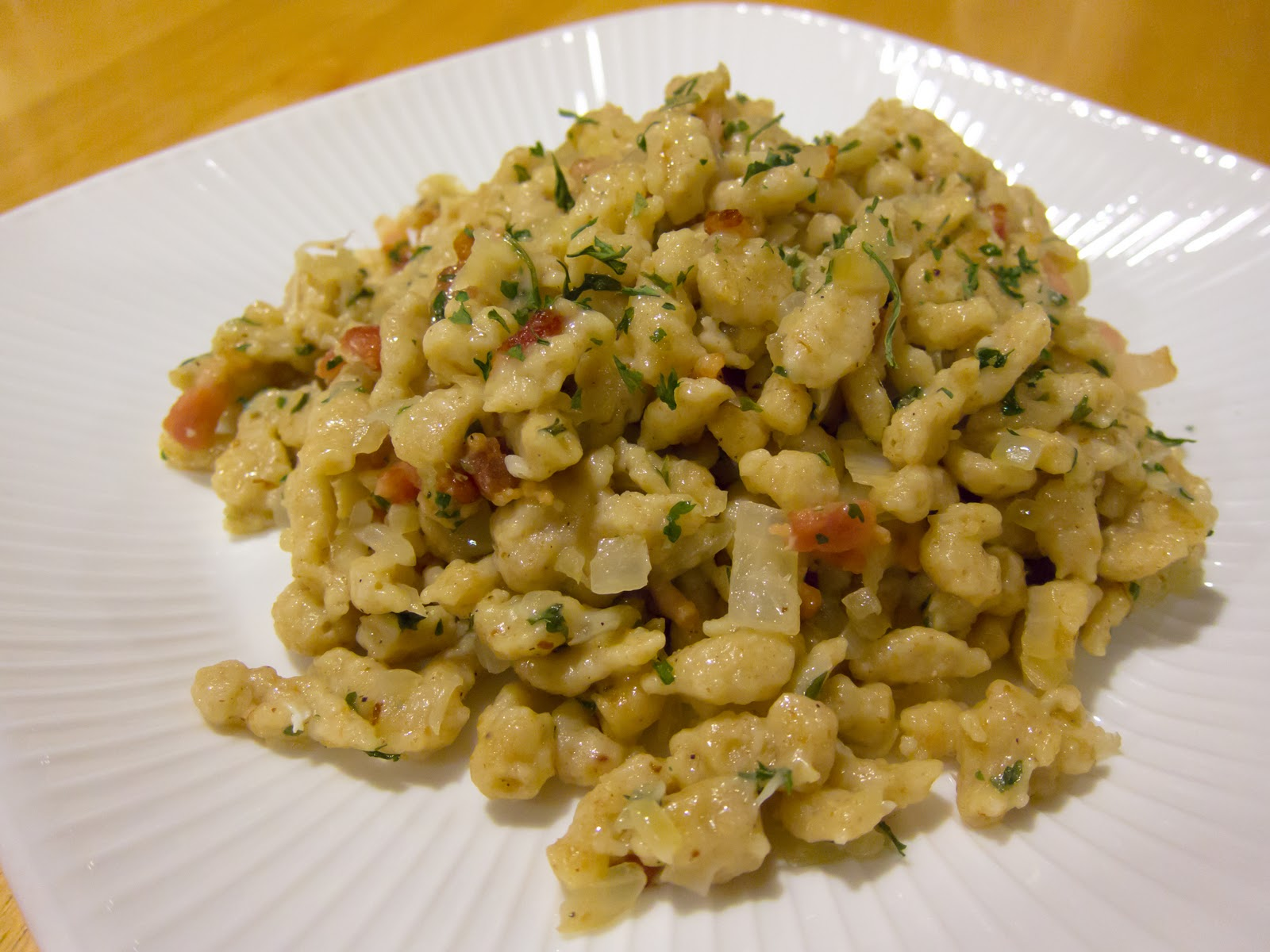Eat HappiLee: Something Spaetzle (German Dumplings)