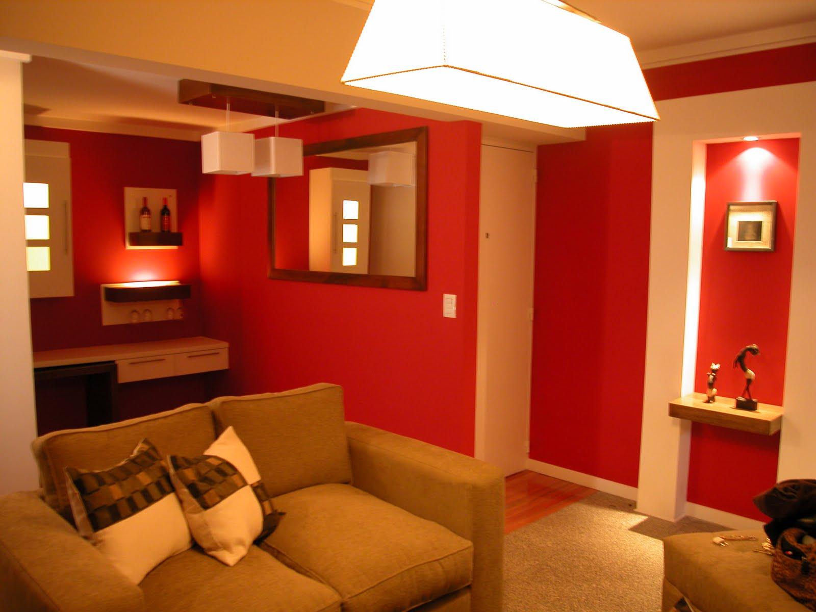Silvana butto asociados el rojo para el estar for Colores para cocina comedor
