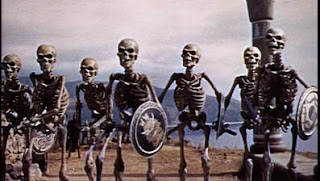 Jason and the Argonauts skeletons Ray Harryhausen