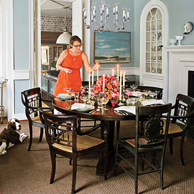 Amerige avenue for Southern dining room