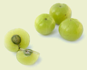 Amla or Indian gooseberry is the most powerful anti-aging and