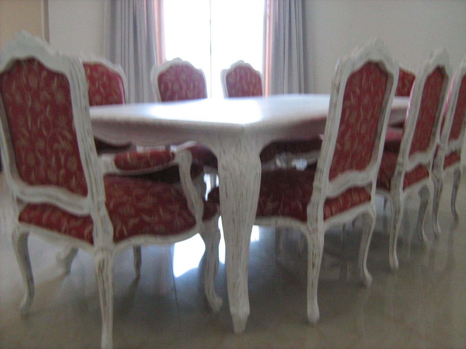 Conjunto De Sala De Jantar Luis Xv ~ Móveis Luis XV Sala jantar Luis XV
