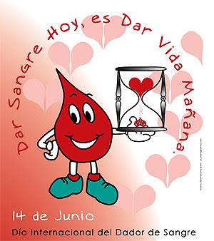 14 de junio : Día Mundial del Donante de Sangre