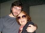 Nelly Omar con Charly de Flormaleva