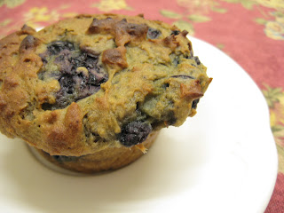 Ginger Lemon Girl: Oh So Sweet Blueberry Muffins!