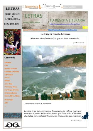Nuevo Número de la revista Letras ya disponible