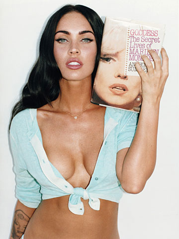 megan fox gq outtakes