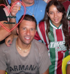 Manuela e Washington do Fluminense