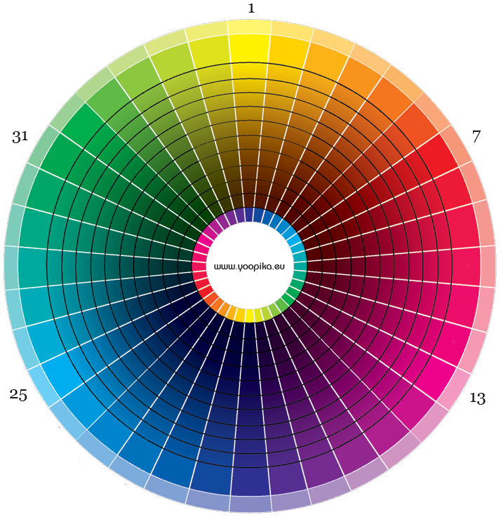 L 39 adresse des coloristes post it n 1 - Roue chromatique des couleurs ...