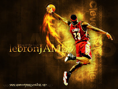 lebron james wallpaper 2009. Lebron James Wallpaper