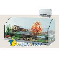 Aquaterrarium for freshwater turtles